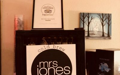 Beyond the Grape Now Partnering with Mrs. Jones Cold Brew
