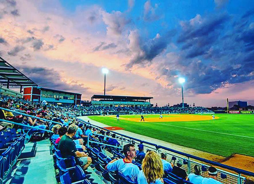 Beyond the Grape at Pensacola Blue Wahoos Opening Day