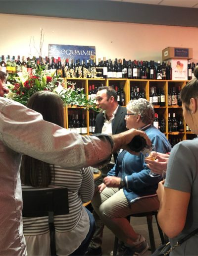 "Beyond the Grape 5-Year Anniversary Event with special guest Benedetto ""Benny"" Barachi from Cortona, Roscana"