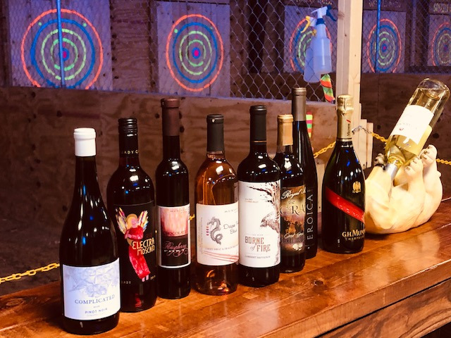 Beyond the Grape - Axes & Ohs Valentine's Day Beer And Wine Tasting