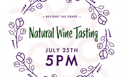 Special Wine Tasting July 25th :: Natty Wine!
