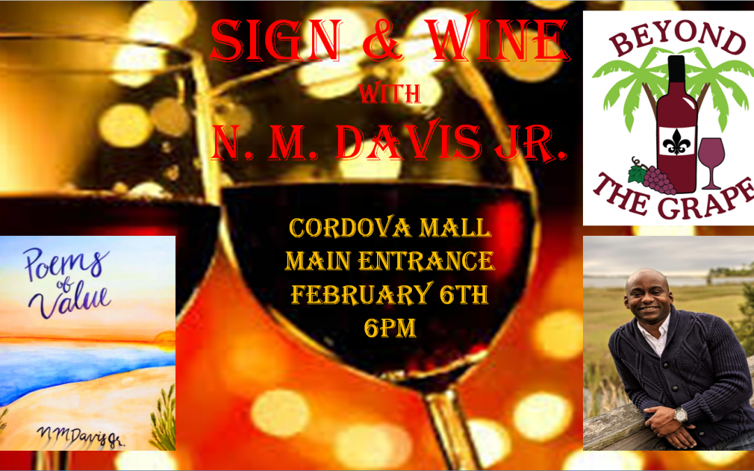 Beyond the Grape in Pensacola, FL - Sign & Wine Book Signing Feb 6-9pm